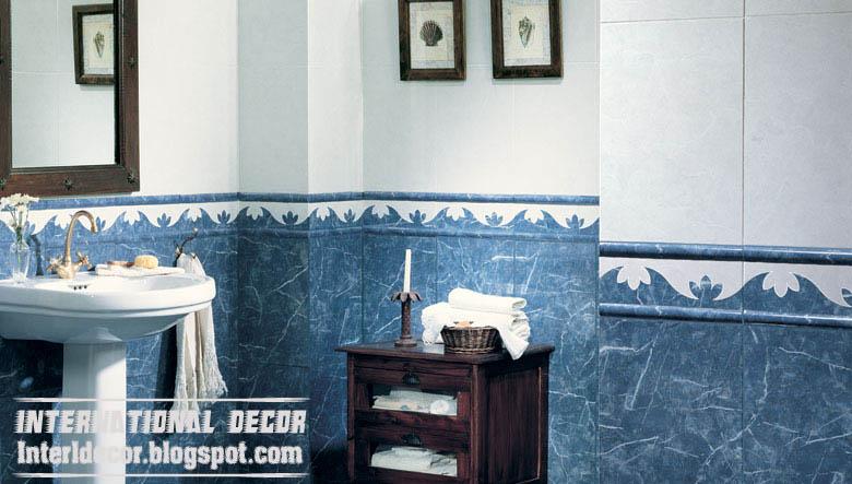 Clic Wall Tiles Scheme Blue Bathroom Design