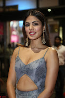 Rhea Chakraborty in a Sleeveless Deep neck Choli Dress Stunning Beauty at 64th Jio Filmfare Awards South ~  Exclusive 092.JPG