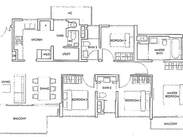 Forestwood Residences Floor Plan 3