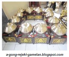 Kenong Ricikan Struktural Karawitan Jawa