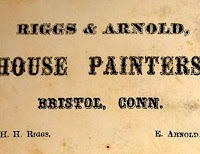 Earl J. Arnold and H.H. Riggs were house painters for awhile