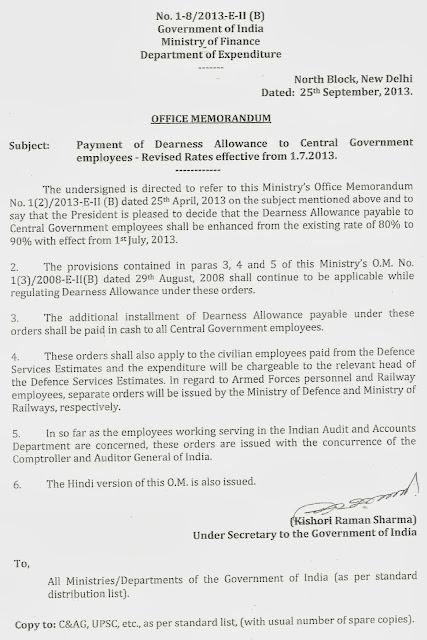 cent govt employees