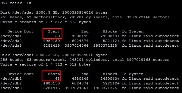 XBMCNut: Test to see if your Synology NAS is using 4k sectors