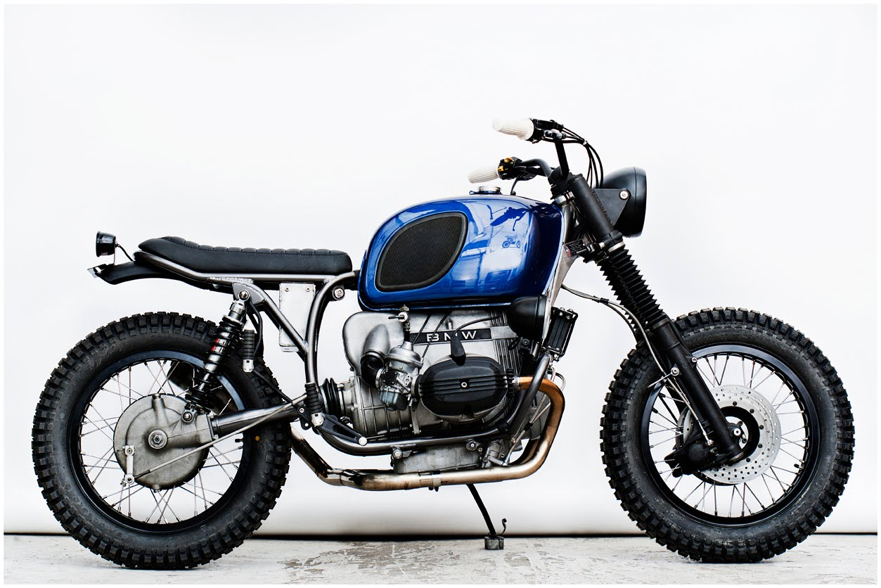 Racing Cafe Bmw R 100 Rs Scrambler By Wrenchmonkees