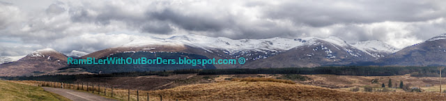 Ben Nevis, view from Commando Memorial, Scotland, UK