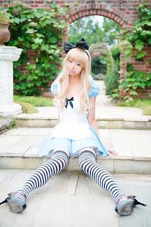 cosplay Alice in wonderland