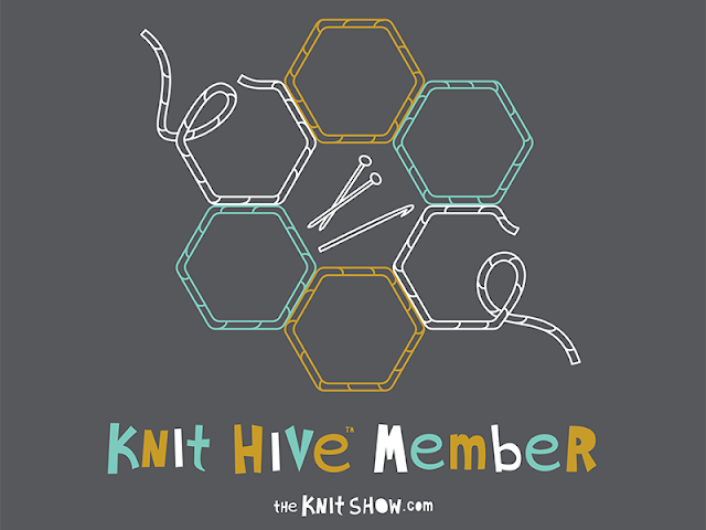 The benefits of social knitting and being part of a knit hive community.