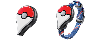 Pokémon GO Plus device wearable dongle