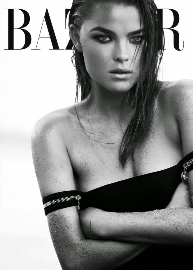 Bambi Northwood Blyth goes sultry for Harper's Bazaar Australia December 2014