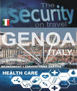 Đenova, Italija – Bezbednost i zdravstvena zaštita