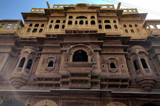Nathmal-ki-Haveli (19th-century), once used as the prime ministers house of Jaisalmer