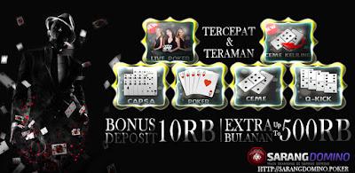 Selamat tiba dan mari kita simak mengenai situs poker online terbaik  SARANGDOMINO Bandar judi poker kondusif tercepat