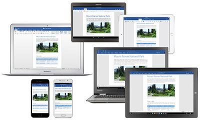 Office 2016 across device