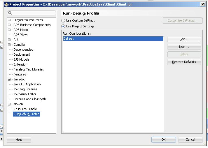 Allow user input in Jdeveloper for Java applications, Using Java