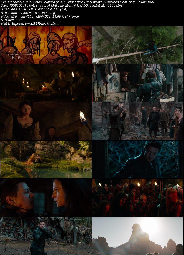 Hansel and Gretel (2013) Dual Audio Hindi 480p BluRay 300MB ESubs Movie Download