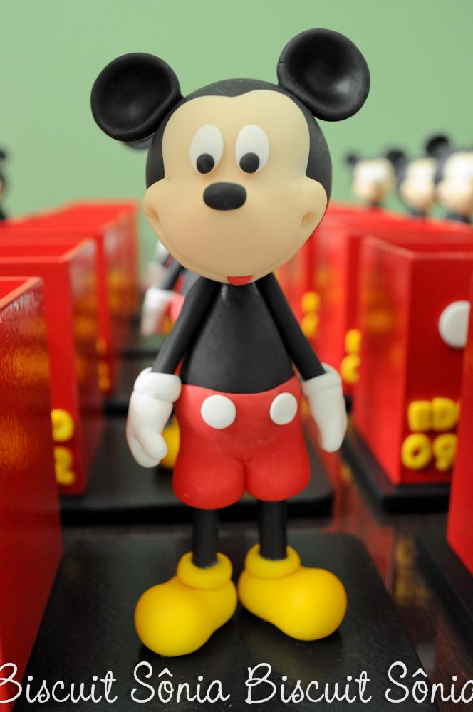 Mickey Biscuit Porta-Lápis