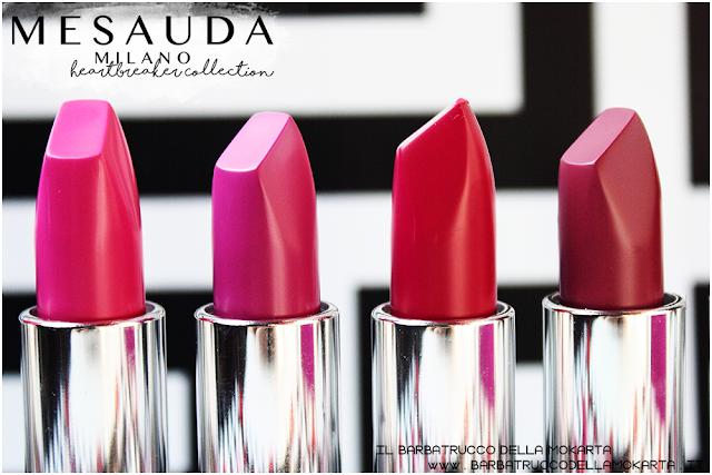 makeup recensione heartbreaker lipstick, rossetto matt , matt lipstick , 4ver lips , matite labbra, mesauda