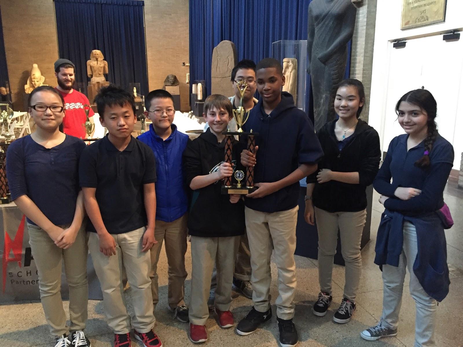 Southwark Chess Club Brings Home a Trophy | Southwark School K-8