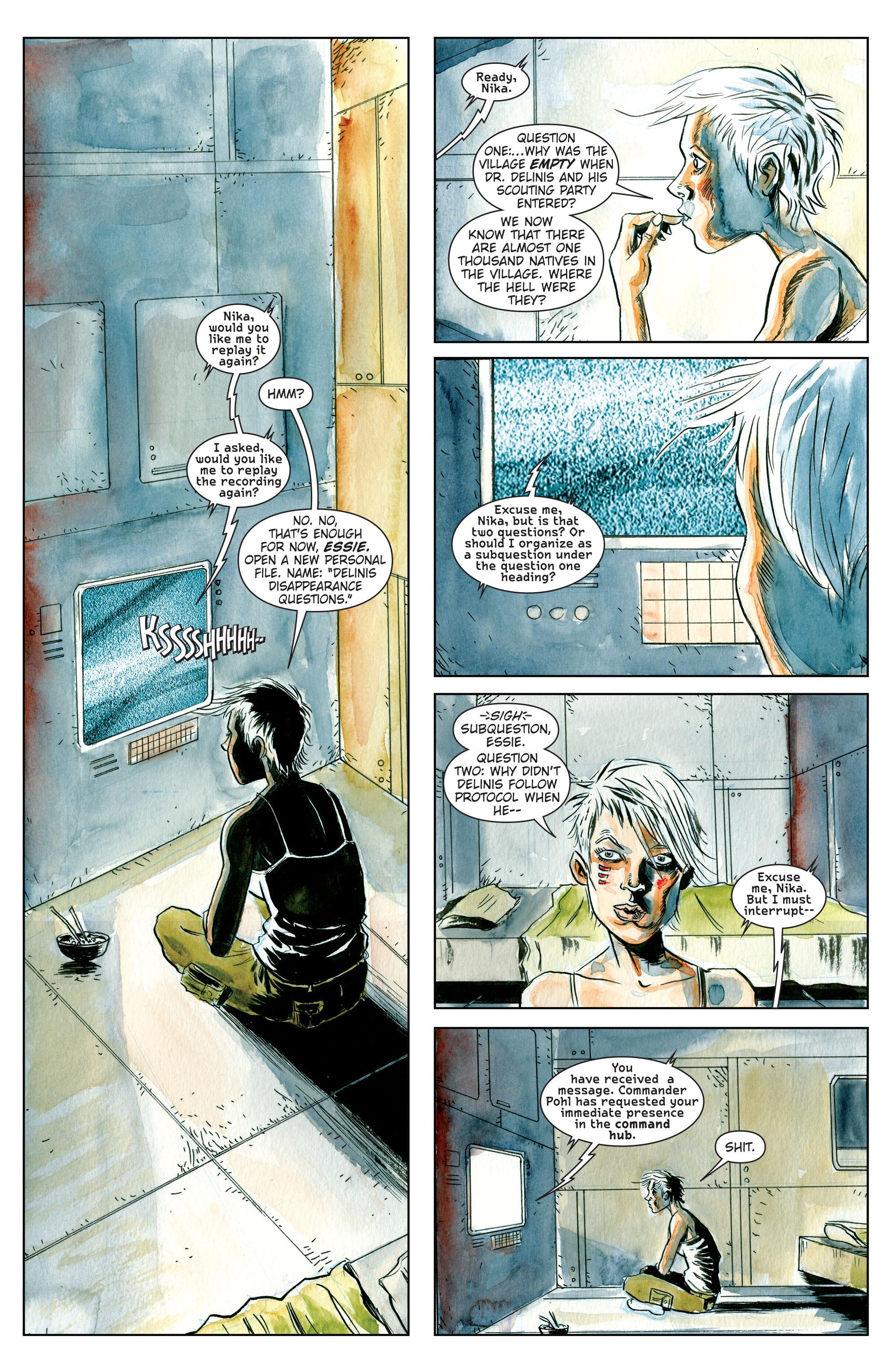 Read online Trillium comic -  Issue # TPB - 8