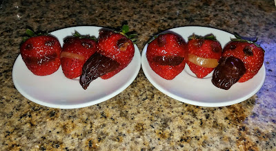 Jack O Lantern Strawberries