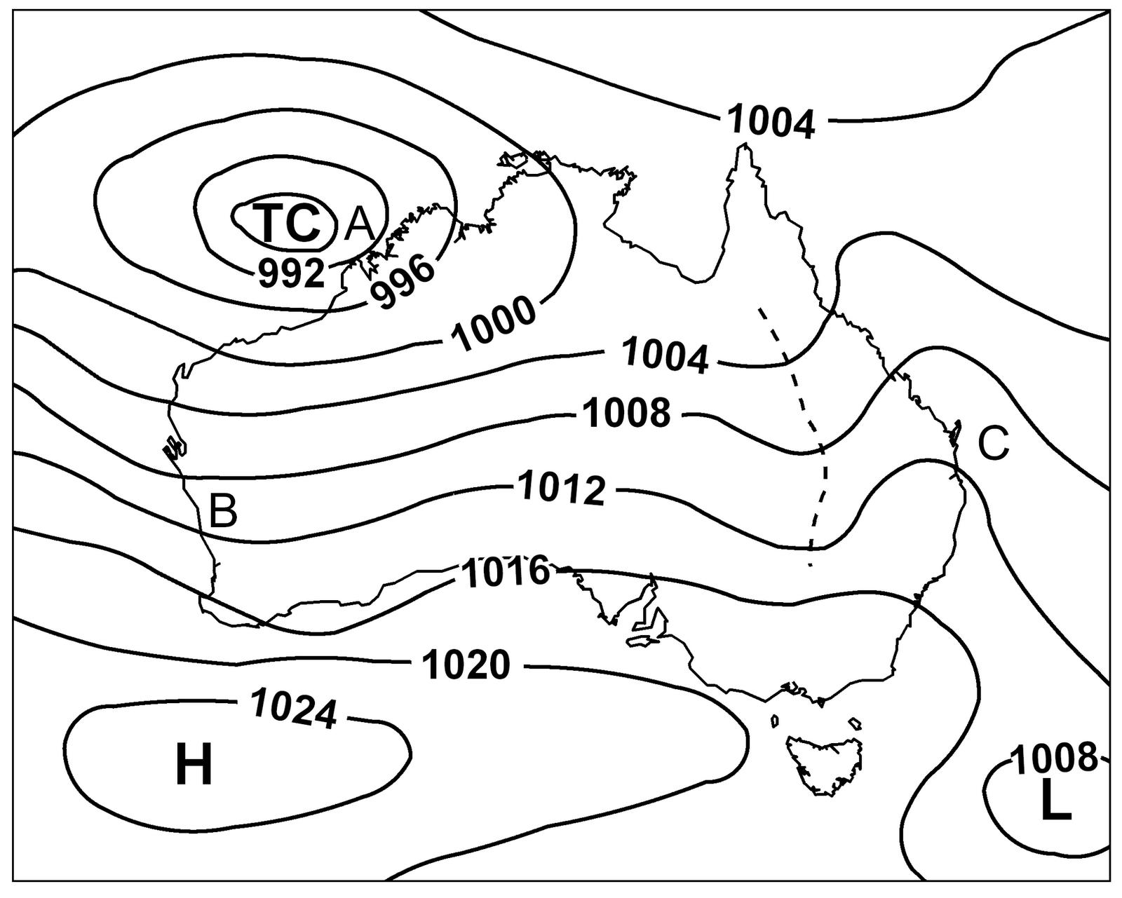 Map-Analysis-wtl08: Isobar