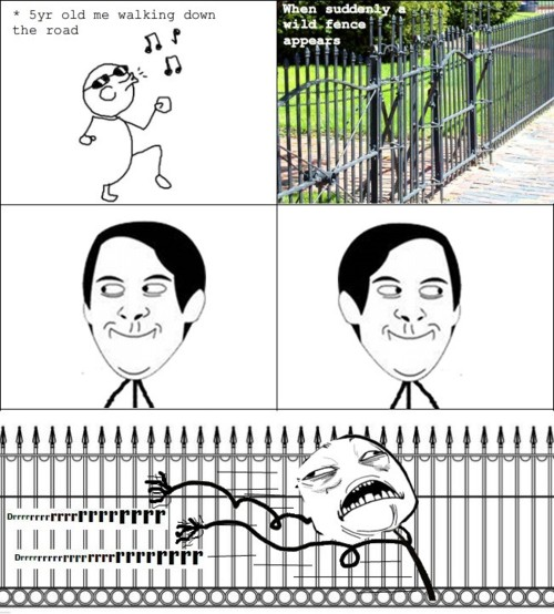 We All Did This As Kid - Play Fence