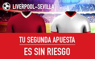 sportium champions promocion 10 euros Liverpool vs Sevilla 13 septiembre