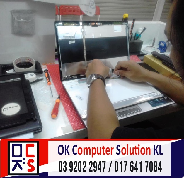 [SOLVED] SKRIN ASUS A43S PECAH | REPAIR LAPTOP CHERAS 3
