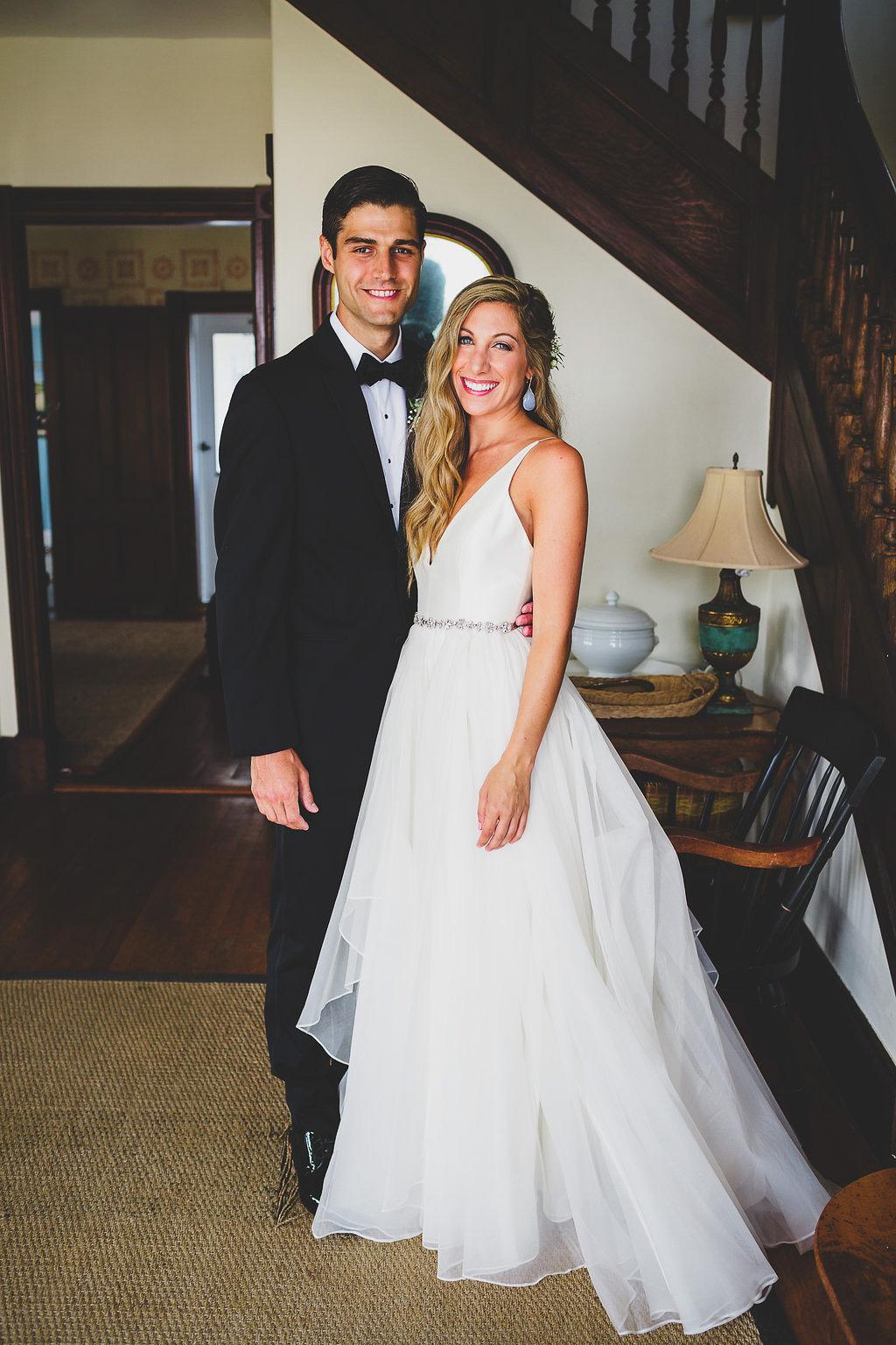 Laid back estate wedding in Martha's Vineyard at The Chilmark Tower House | blog.cassiecastellaw.com