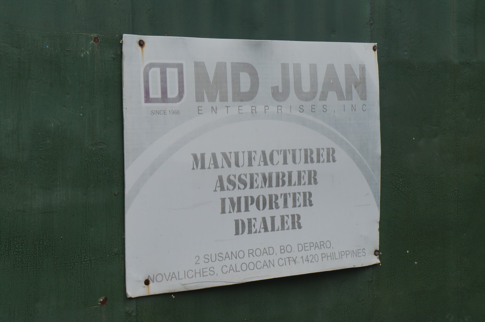 MD Juan Enterprises : Proudly Filipino-Owned Jeep Business in the