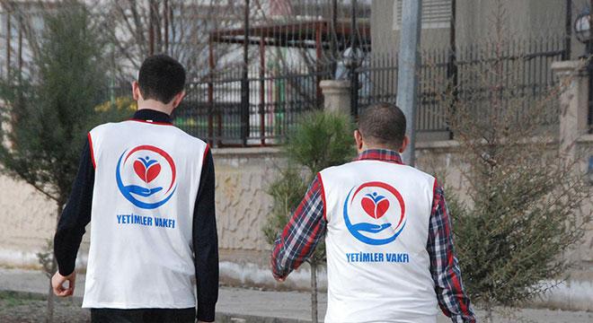 Yetimler Vakfı Diyarbakır'da yardımlarını sürdürüyor