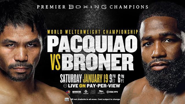 Manny Pacquiao vs. Adrien Broner (Full Fight Video) - January 19, 2019