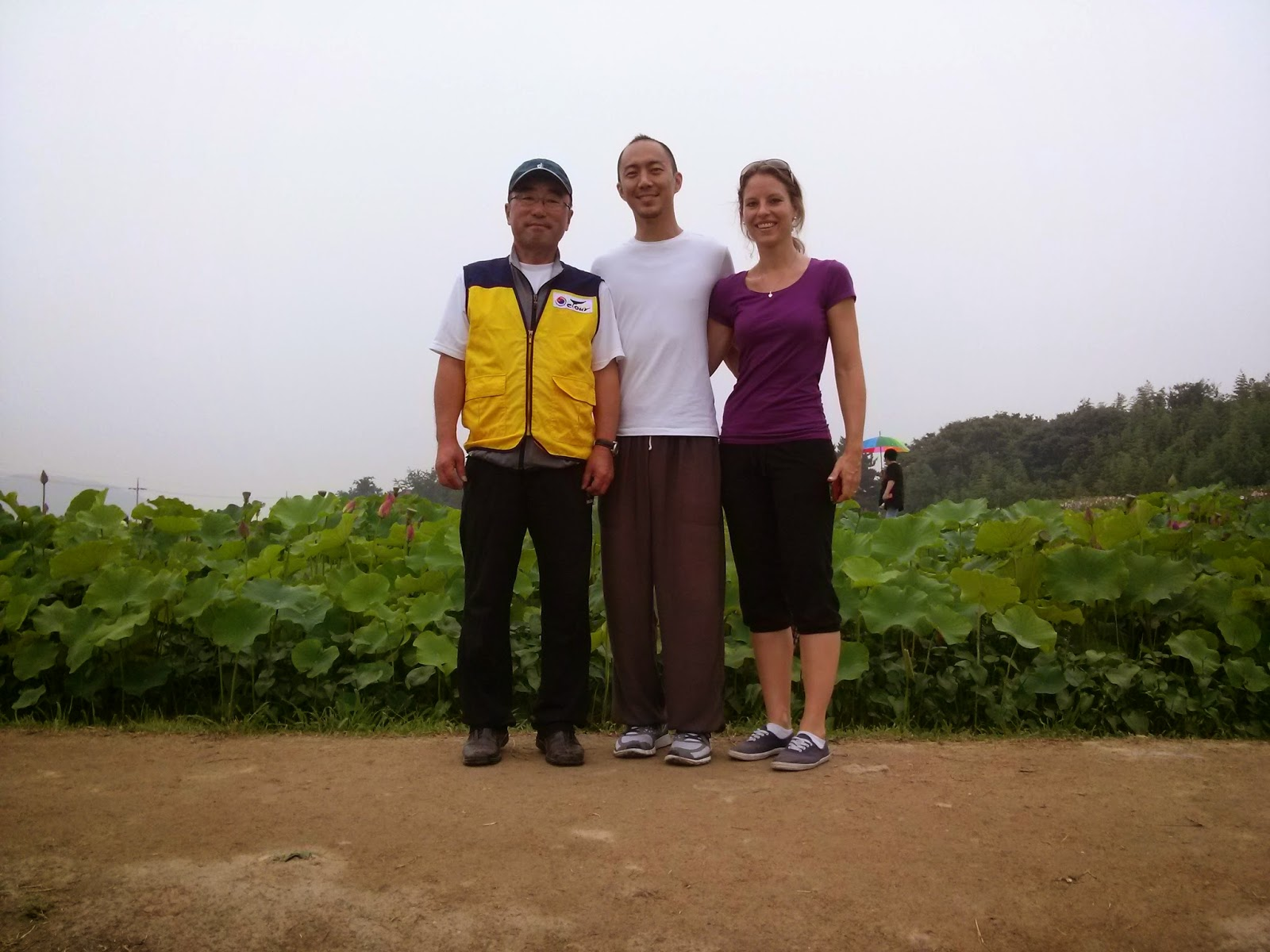 Our happy tourists with Moore Kim guide (Korea E Tour)