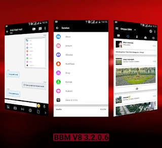 BBM Mod V8 Theme 3.2.5.12 Android + Smooth and Faster