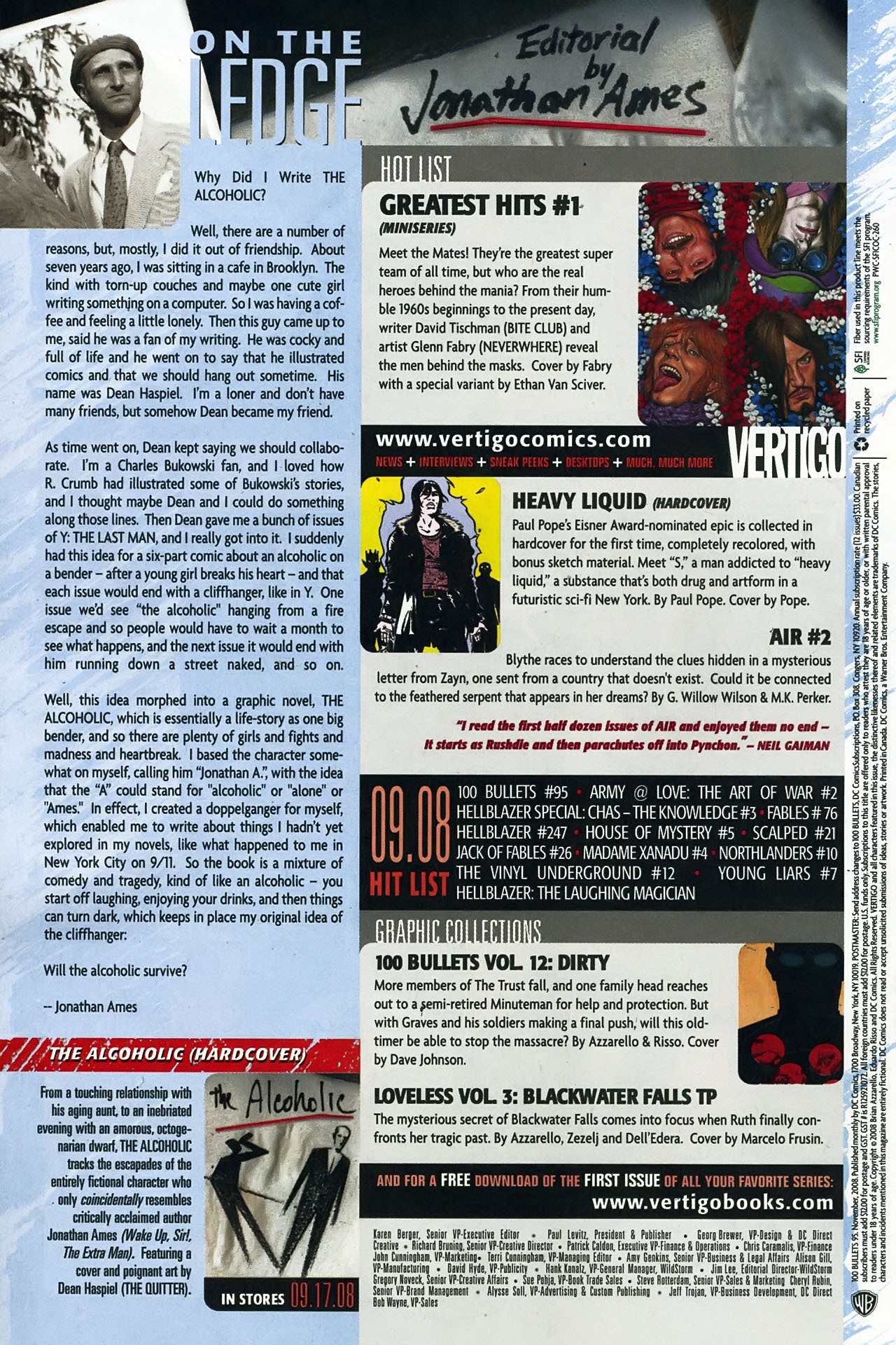 Read online 100 Bullets comic -  Issue #95 - 24