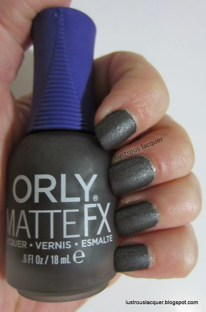 Orly Matte FX Iron Butterfly