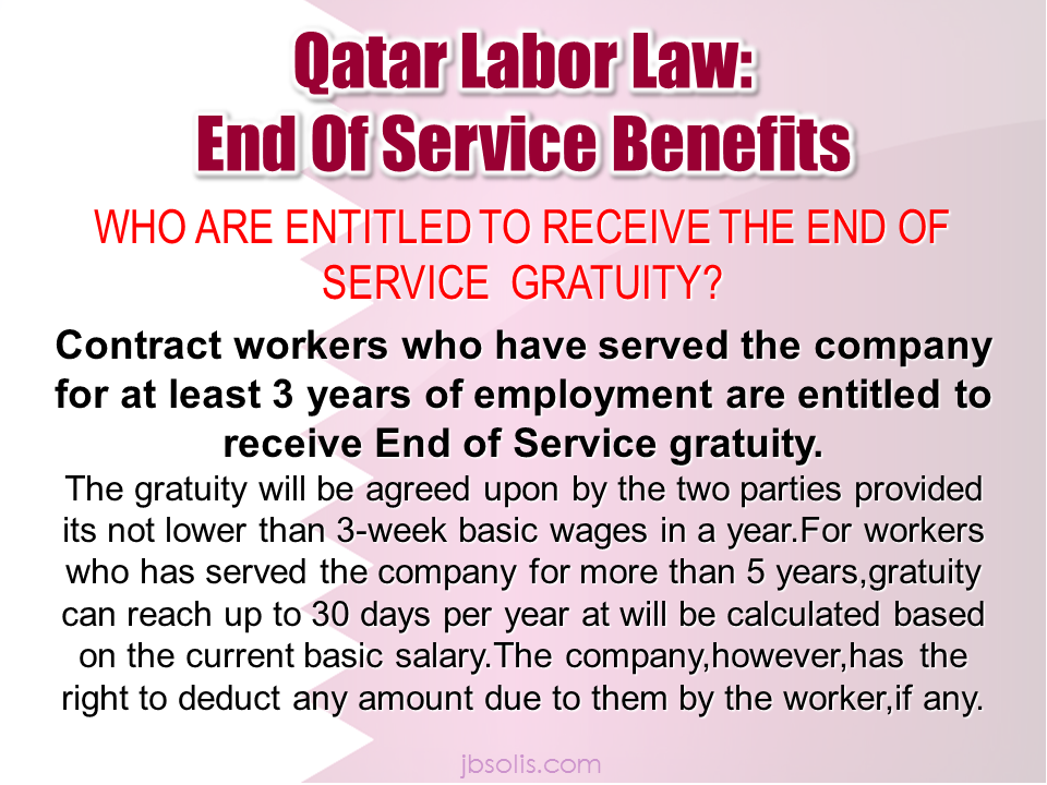 qatari law essay The qatari government has introduced a new labour law which it says will bring tangible benefits to workers in the country the new regulations, aimed at making it easier for migrant workers to change.