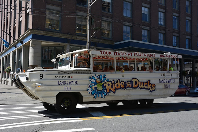 Seattle Ride the ducks