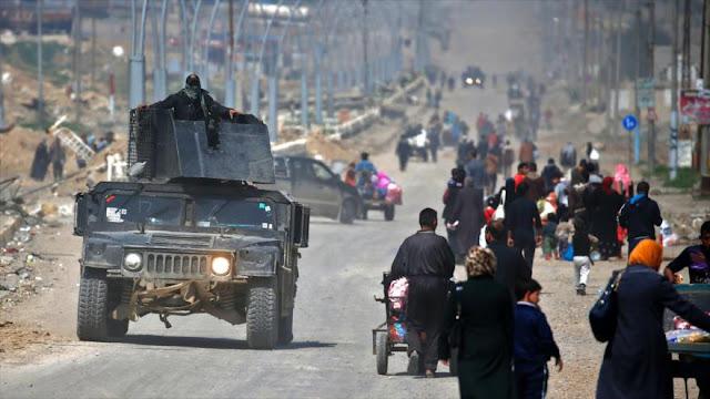 """Moscú: EEUU necesitaba """"una victoria relámpago"""" en Mosul"""