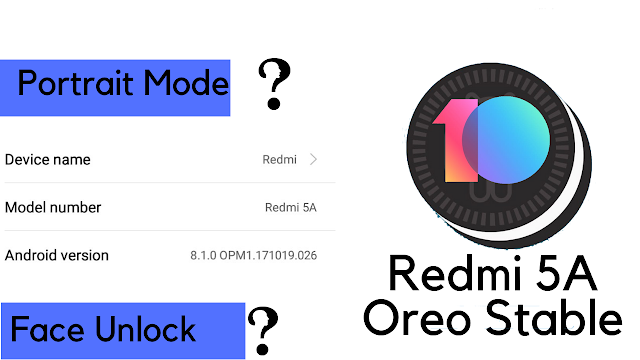 Download and Install MI UI 10.1.2.0 Global stable ROM For Redmi 5A OREO