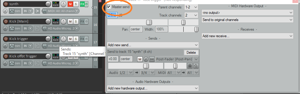 Using Side-Chain Trigger Tracks - Audio Ordeal