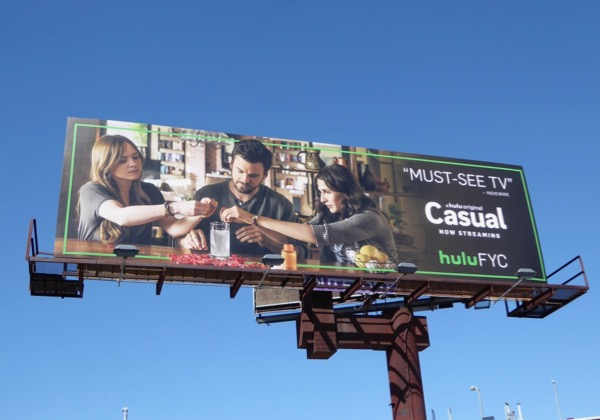 Casual season 2 Emmy billboard
