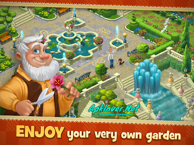 Gardenscapes MOD APK unlimited money