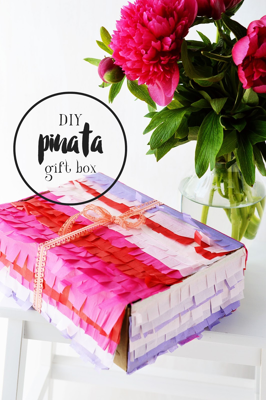 DIY Pinata Gift Box | Motte's Blog
