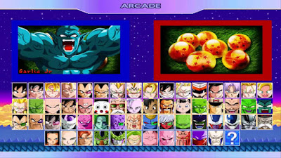 free download MUGEN Game Dragon Ball Z Road To Victory for pc