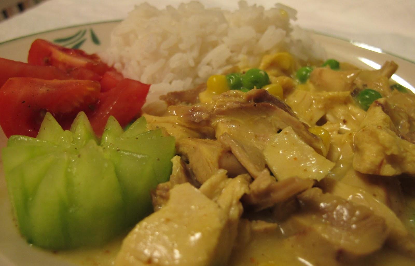 mitt kök kycklinggryta med curry