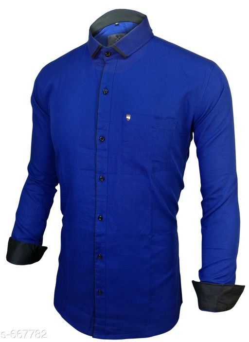 Men's Standard Slim Fit Cotton Shirts Vol 1 [S-667782]