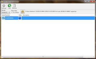 Cara Gampang Flash Asus Zenfone C Z007
