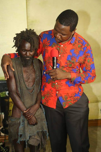 Photo News: Mad Man Receives Healing After Accepting Jesus