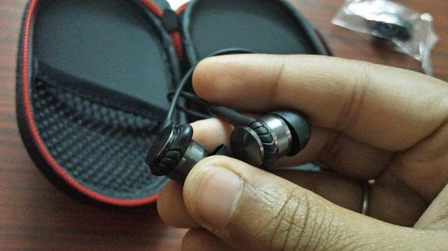 Earphone Close Up 2